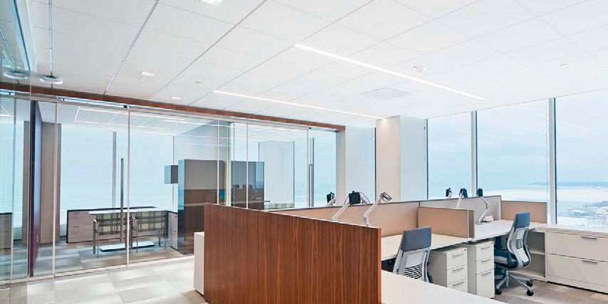 The Combination of Sound Absorption and Sound Blocking provided by Total Acoustics™