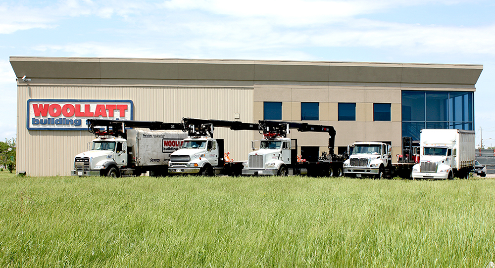 Woollatt service fleet of trucks