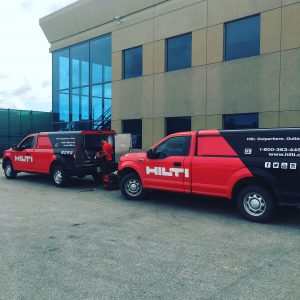 Hilti Day at Woollatt Building Supply